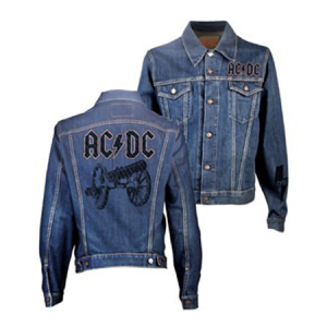 AC/DC Cannon Denim Jacket