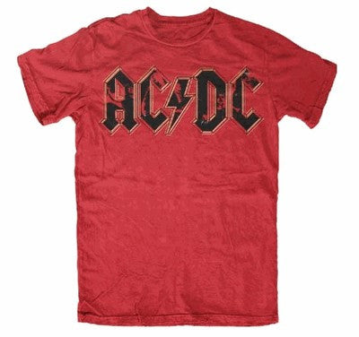 AC/DC Photo Logo T-Shirt