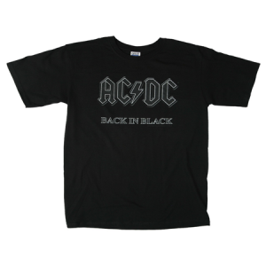 AC/DC Back In Black T-Shirt