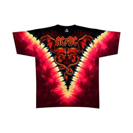 AC/DC Evil Wings Mens T-Shirt