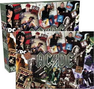 AC/DC Collage - 1000 pc Puzzle