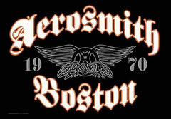 Aerosmith Boston Fabric Poster