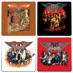 Aerosmith Wood Coaster Set