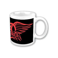 Aerosmith Red Wings Logo Boxed Mug