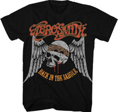 Aerosmith Back in the Saddle Mens T-Shirt