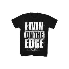 Aerosmith Livin On The Edge Mens T-Shirt