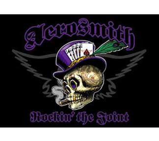 Aerosmith Top Hat Skull Magnet