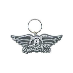 Aerosmith Wings Logo Keychain