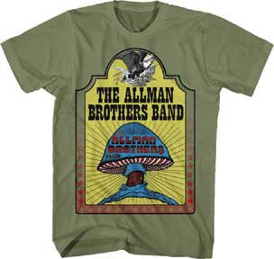 Allman Brothers Hell Yeah Mens T-Shirt