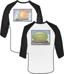 Allman Brothers Eat a Peach Baseball T-Shirt