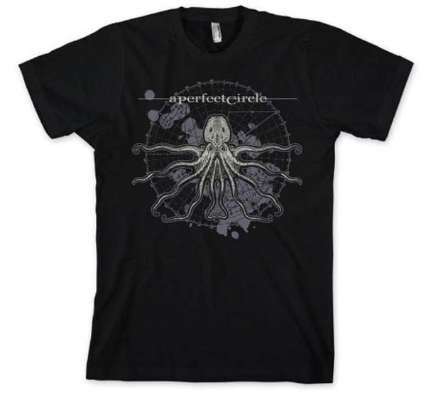 A Perfect Circle Octo Diagram Slim Fit T-Shirt