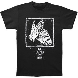 Against Me Clapping Gloves T-Shirt