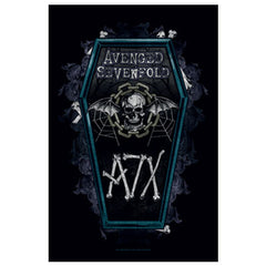 Avenged Sevenfold Coffin Fabric Poster
