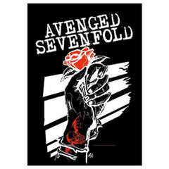 Avenged Sevenfold Rosehands Fabric Poster