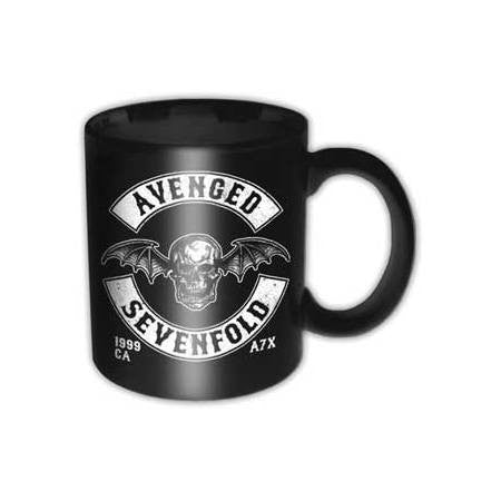 Avenged Sevenfold Deathbat Crest Box Mug