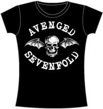 Avenged Sevenfold Classic Deathbat Juniors T-Shirt