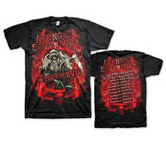 Avenged Sevenfold Flame Reaper Limited Tour Mens T-Shirt