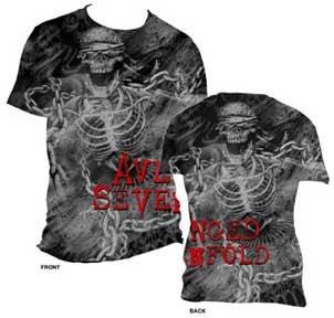 Avenged Sevenfold Chain Mens AO Print T-Shirt