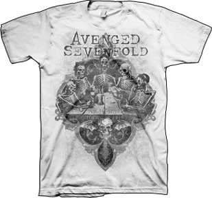 Avenged Sevenfold Bottoms Up Mens T-Shirt