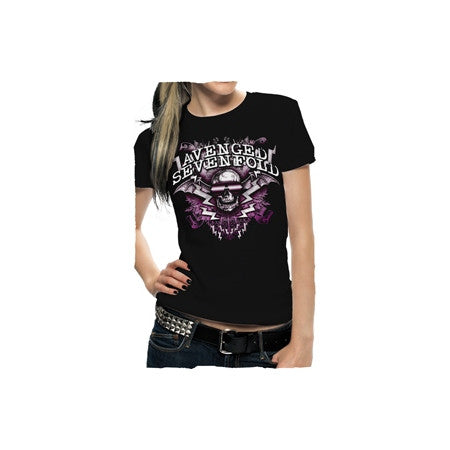 Avenged Sevenfold New Age Sunglasses Juniors T-Shirt