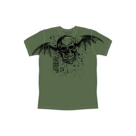 Avenged Sevenfold Oversize Deathbat Mens T-Shirt