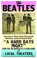 The Beatles A Hard Days Night Concert Poster