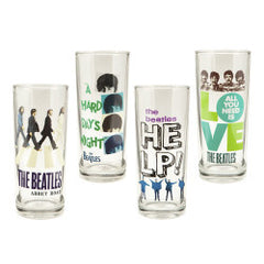 The Beatles Collection 10 oz Glass Set