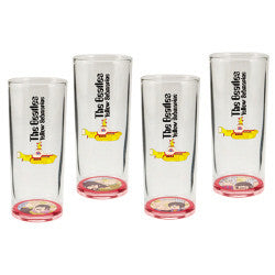The Beatles Yellow Submarine 10 oz Glass Set