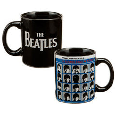 The Beatles Hard Days Night 12 oz Ceramic Mug