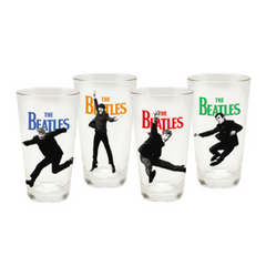 The Beatles 16 oz Glass Set