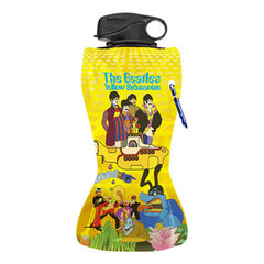 The Beatles Yellow Submarine 24oz Collapsible Water Bottle