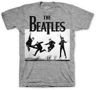The Beatles Jump Photo Mens T-Shirt