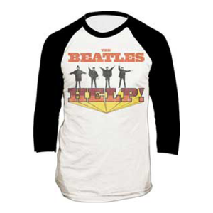 The Beatles Help Raglan T-Shirt