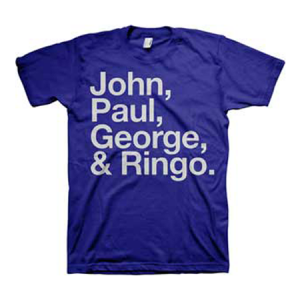 The Beatles John Paul George and Ringo T-Shirt