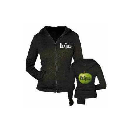 The Beatles Green Apple Juniors Zip Hoodie