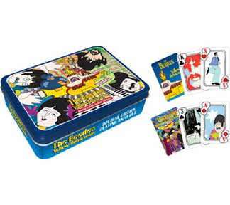 The Beatles Yellow Submarine Playing Card Tin Set