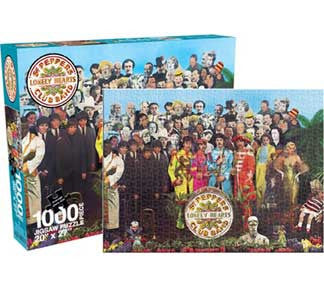 The Beatles SGT Peppers 1000pc Puzzle