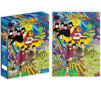 The Beatles Yellow Submarine 1000pc Puzzle