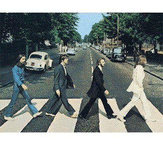 The Beatles Abbey Road 500pc Lenticular Puzzle