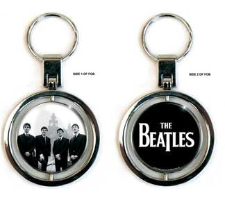 The Beatles Liverpool Buildings Spinner Keychain
