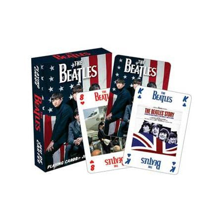 The Beatles USA Playing Cards