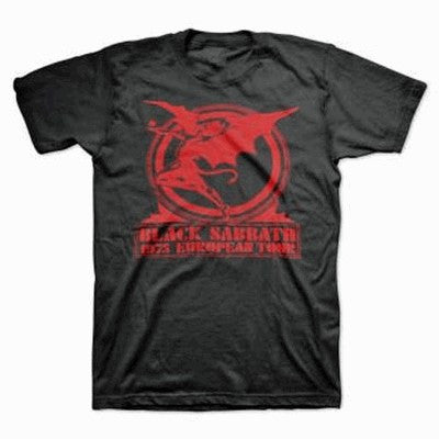 Black Sabbath Europe T-Shirt
