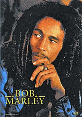 Bob Marley Legend CD Fabric Poster