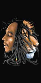 Bob Marley Profiles Beach Towel