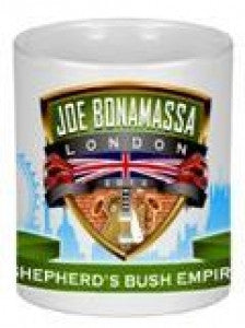 Joe Bonamassa Tour de Force Collectable Mug Shepherds Bush