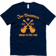 Joe Bonamassa Always on the Road T-Shirt