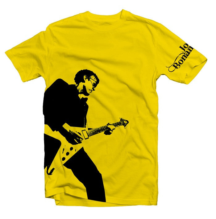 Joe Bonamassa Rockin Yellow T-Shirt