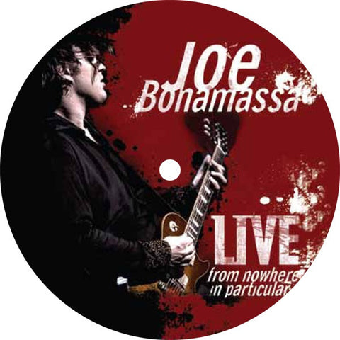 Joe Bonamassa Live From Nowhere in Particular Coaster and Fridge Magnet