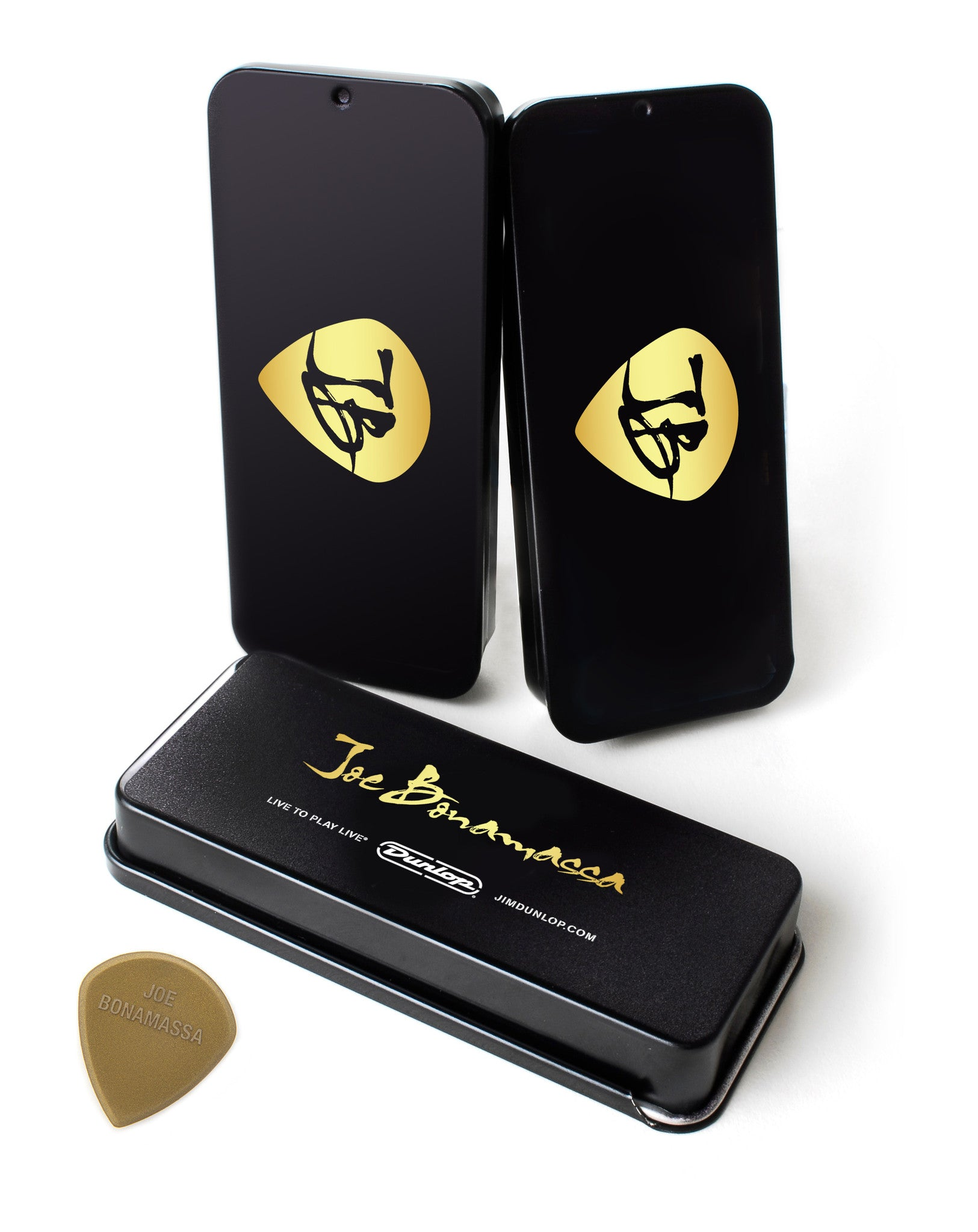 Joe Bonamassa Gold Pick Tin