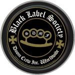 Black Label Society Doom Crew Round Tin